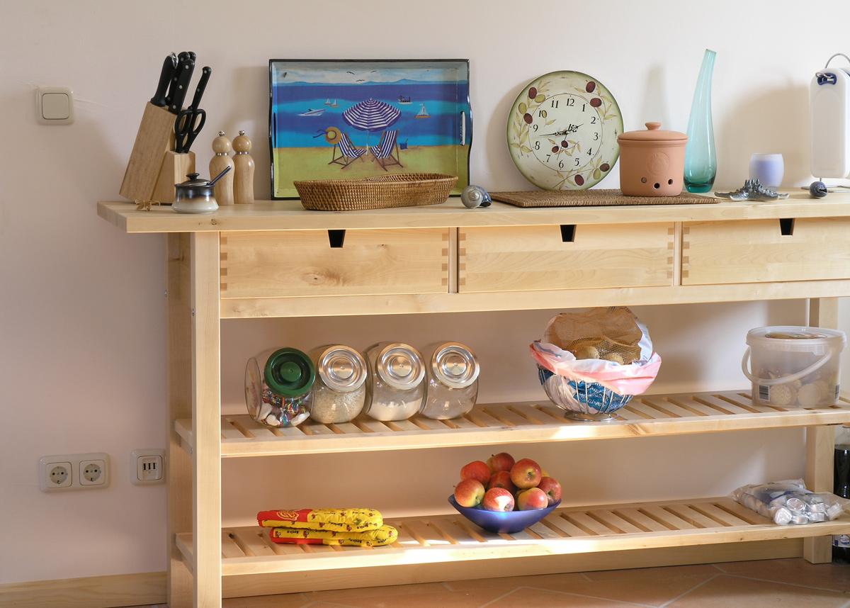 Küche-Ferienhaus Nemo